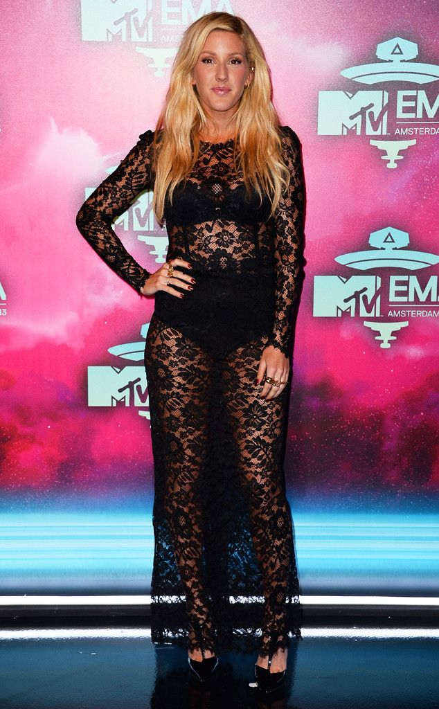 Ellie Goulding at the 2013 MTV Europe Music Awards in Amsterdam