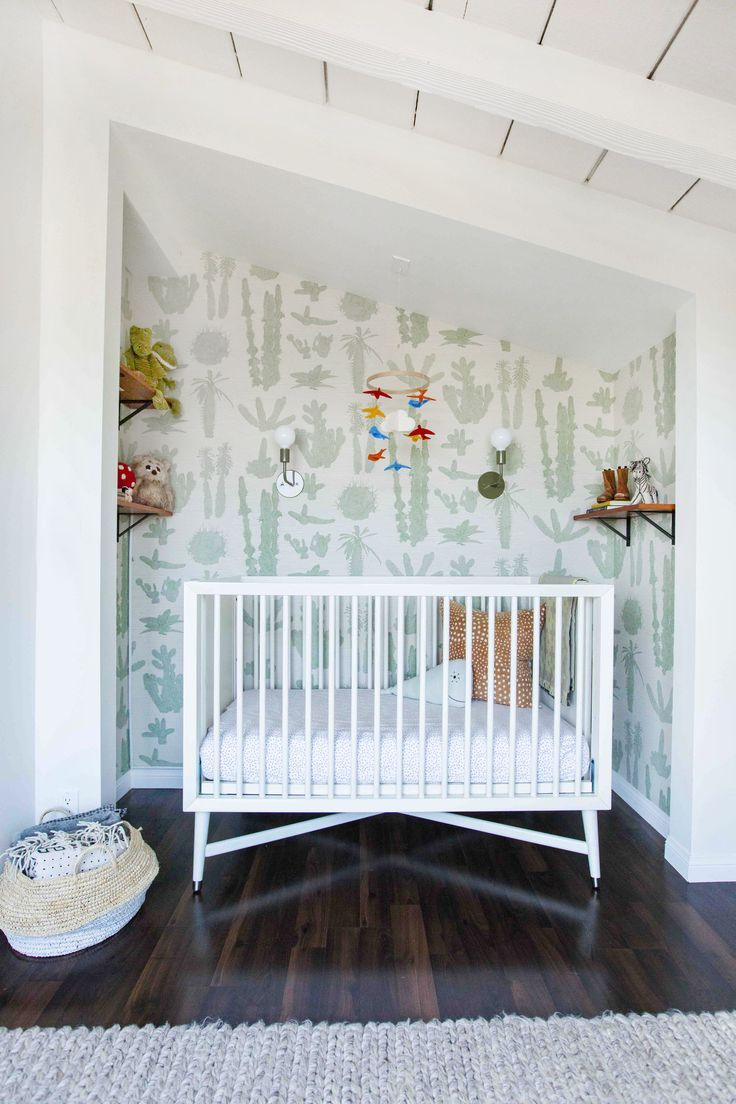 Hollywood Hills Eclectic Nursery With