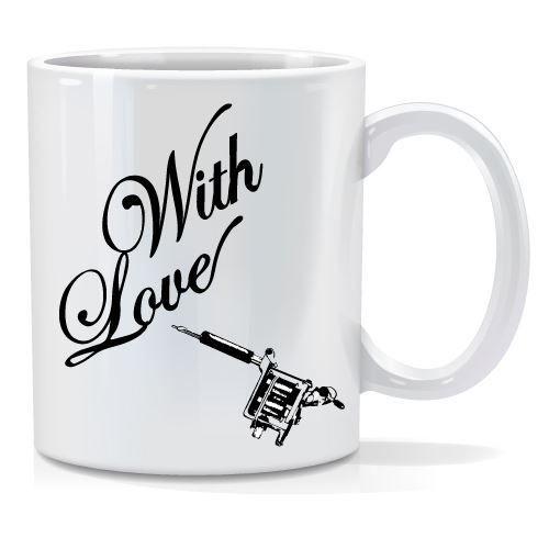 Tazza personalizzata Whit love ink