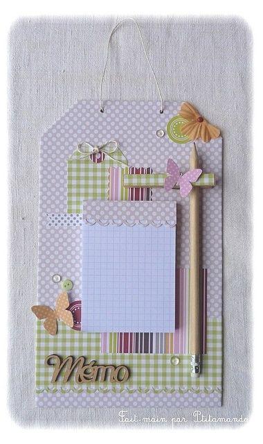 Ejemplos del  scrapbook aplicado al portafolios y  utilizando pinzas decoradas
