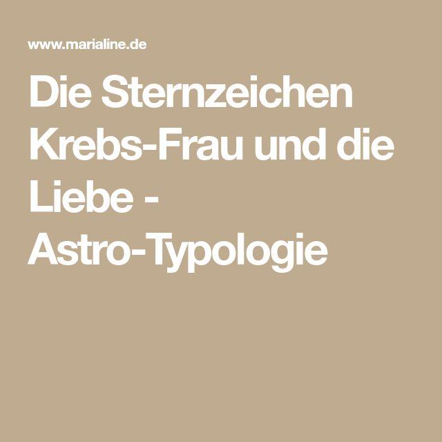 Die Sternzeichen Krebs-Frau und die Liebe - Astro-Typologie