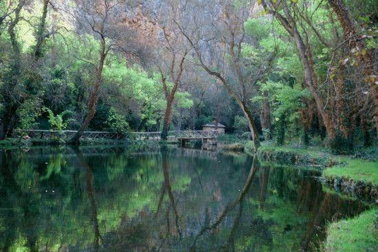 Monasterio de Piedra, Mirror Lake, Zaragoza, Spain