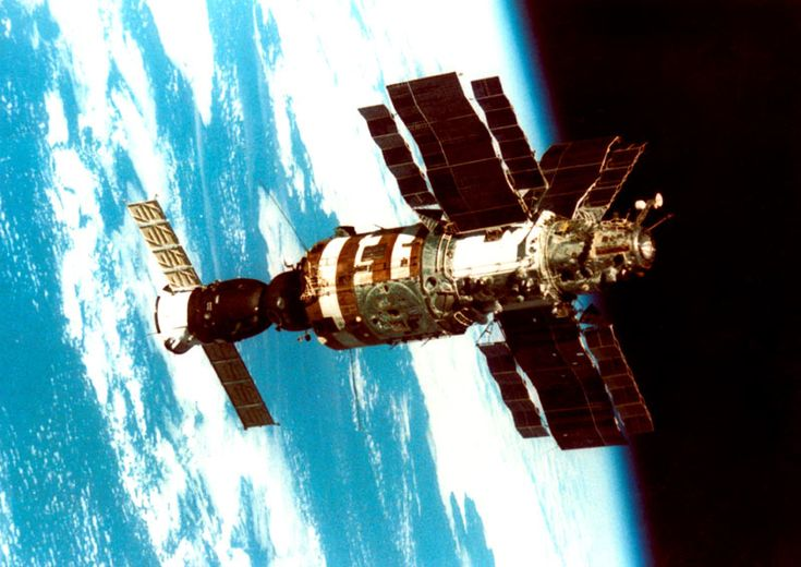 ussr launches mir space station - photo #19