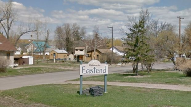 The town of Eastend, Saskatchewan is home to about 500 people.