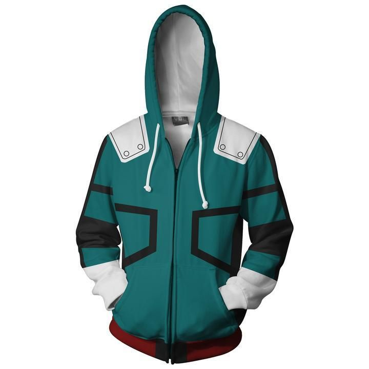 Boku no Hero Academia Hoodie Jacket Coat Cosplay Costume Unisex