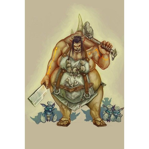 Demonic cook - Postcards, Fantasy