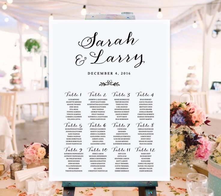 8 best Wedding Ideas \/\/ Wedding Invitations \/\/ Wedding programs - wedding chart