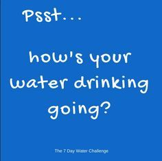 7 day water challenge - Google Search