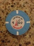 $1 Paris Casino Chip Souvenir