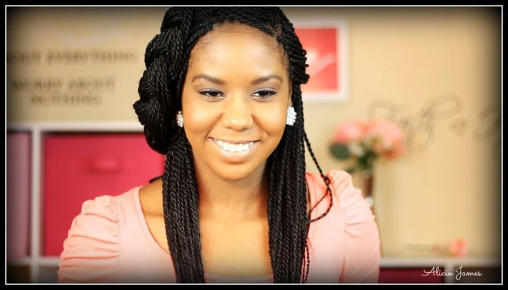 Protective Hairstyles For Natural Hair Braids Senegalese
