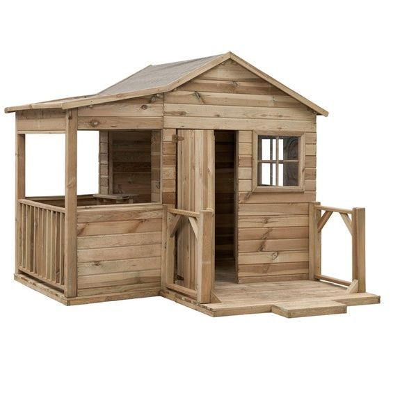 Swingking Spielhaus Laura 170 Cm X 200 Cm X 226 Cm Play Houses Shed Diy Shed Plans