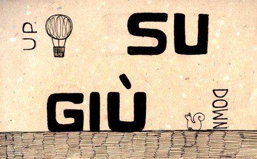 Italian Language ~ Su, giù ( Up, Down)