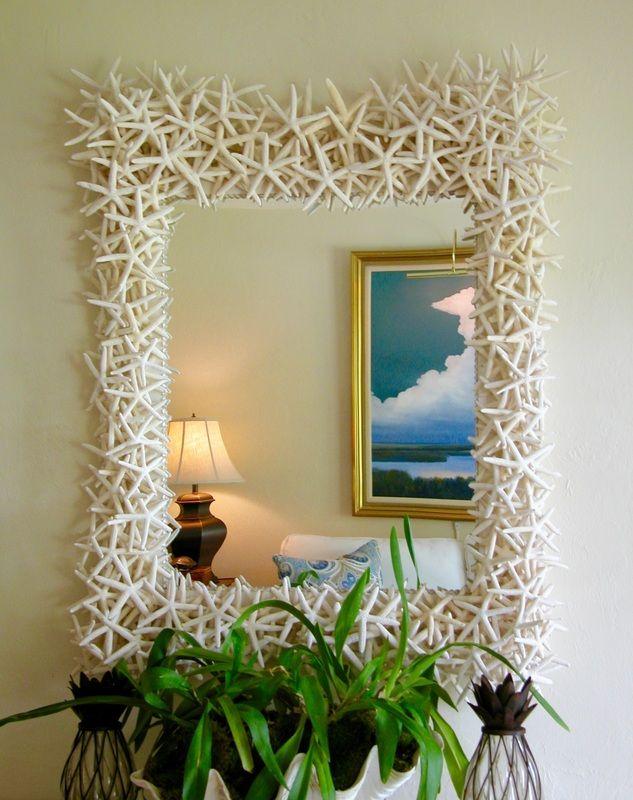 Starfish Mirrors - Seashore Chic