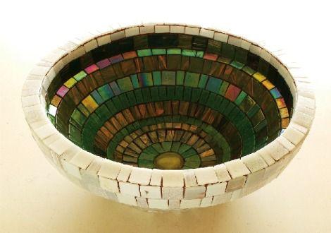 Colores y texturas en mosaico www.katyrujillo.cl