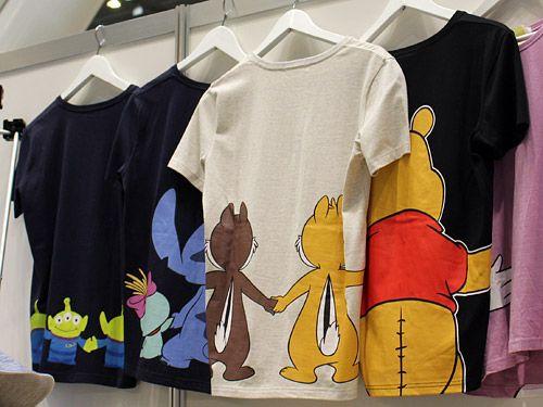 ベルメゾン ディズニーTシャツ くまのプーさん・チップ&デール