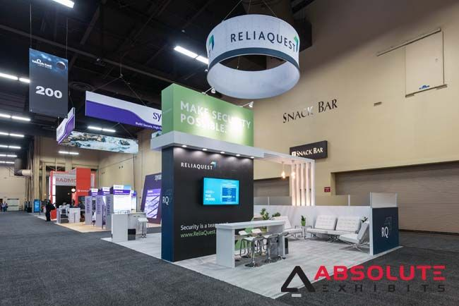 Reliaquest Black Hat 2018 Tradeshows Tradeshowbooth
