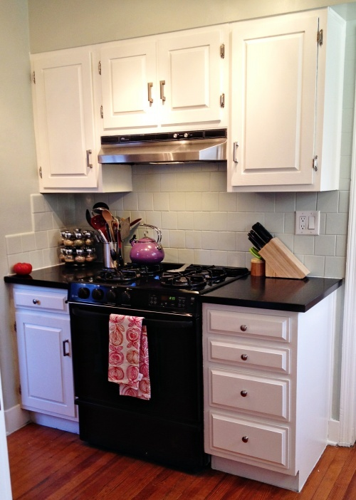 Best Kitchen Makeover Benjamin Moore Gray Owl Walls And 400 x 300