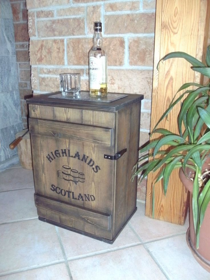 shabby frachtkiste mini bar vintage couchtisch whiskey. Black Bedroom Furniture Sets. Home Design Ideas