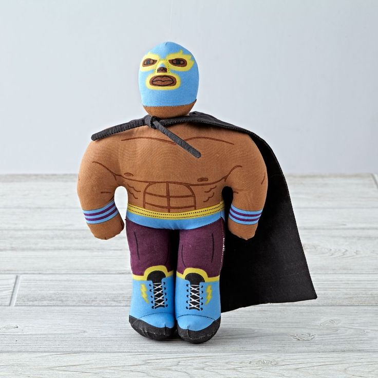 Shop Dr.  Dynamo Ringside Pal.  Pro wrestler dolls have all the fun.  They love matches in the ring and playing with youngsters.  But they've got a soft side, too. Superhero Plüschtier / Stofftier in diversen Formen und Farben. Hulk Hogan wäre neidisch.
