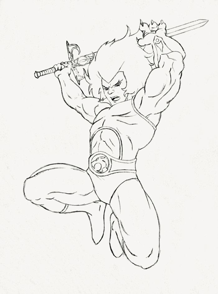 cheetara thundercats coloring pages - photo#2