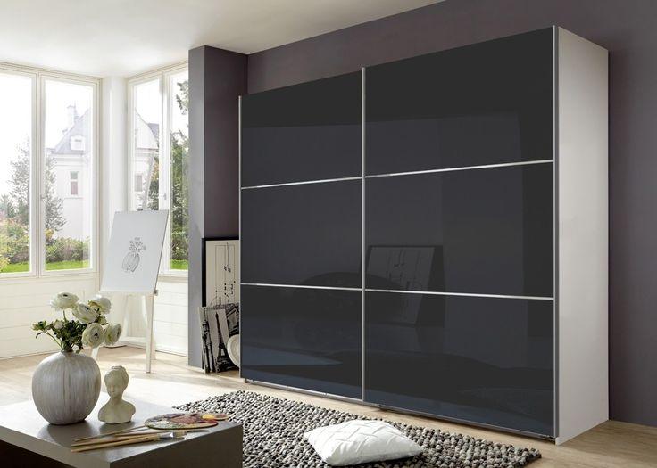 Fabulous Kleiderschrank Escape Alpinwei Grauglas Buy now at https