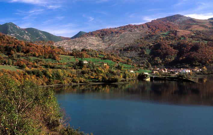 Embalse de Rioseco. Asturias