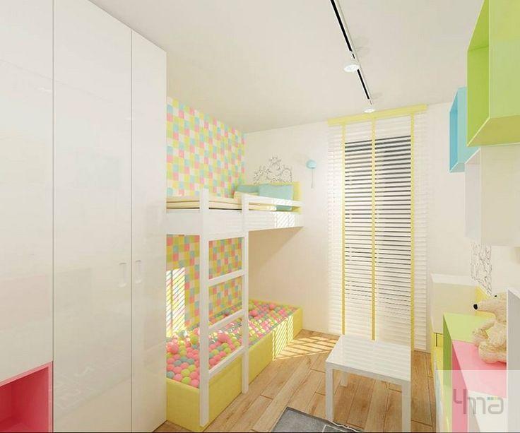 pokój dla dziecka | pokój dla dziewczynki #wnętrze #mieszkanie  #interiors  #architektura #homedecor #interiordesign