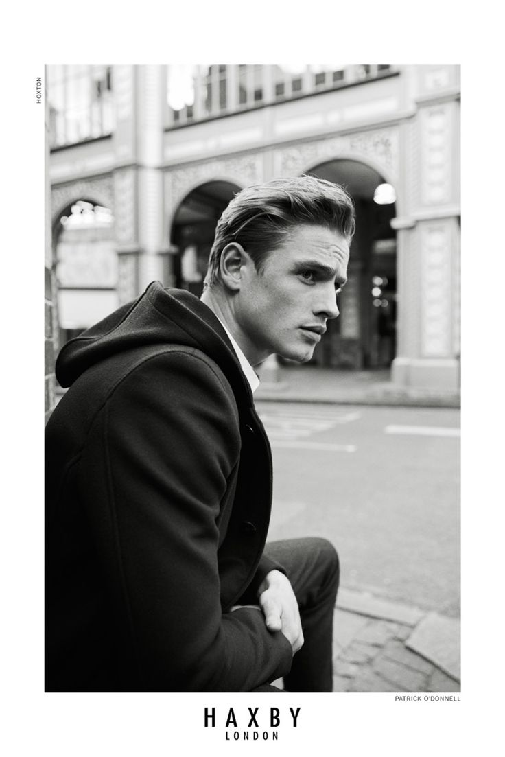 Patrick O'Donnell shot in London by Olgaç Bozalp for the Haxby London Autumn Winter 2015-2016 Campaign