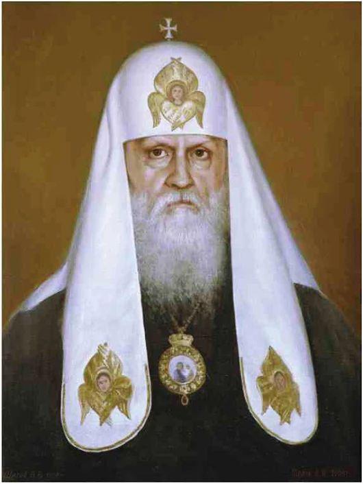 Четырнадцатый Патриарх Московский и всея Руси Пимен (1971-1990).Фотография