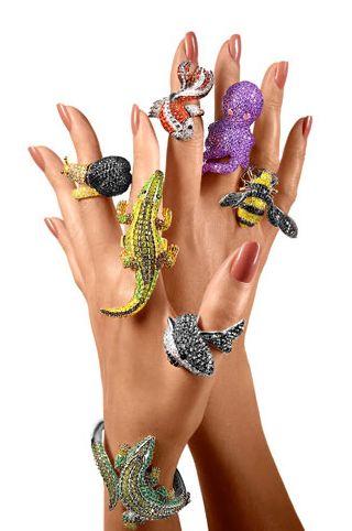 Rings and Bracelet   nOir Jewellery ~ http://www.noirjewelry.com/