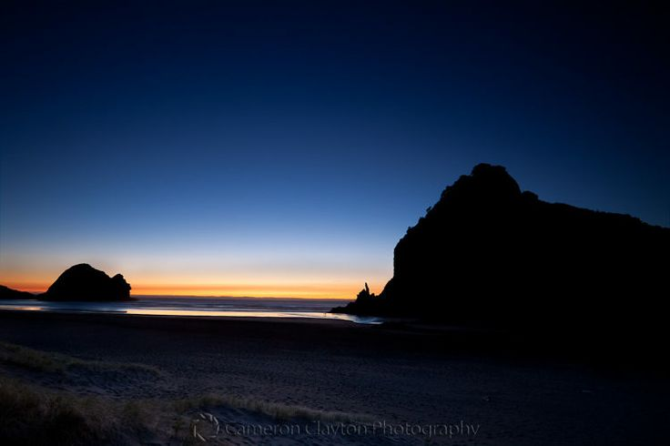 Cameron Clayton, New Zealand Photography, Sunset at Piha