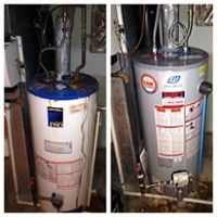 Get a big hot water tank and never run out of hot water