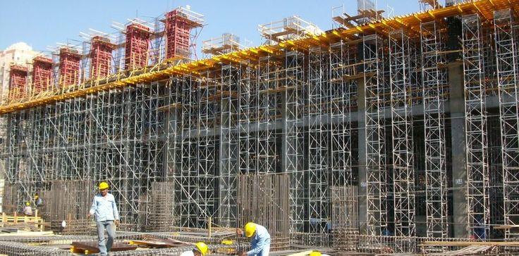 Аренда опалубки в строительстве монолитных сооружений