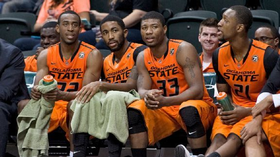 2013 Oklahoma State basketball Marcus Smart and Company