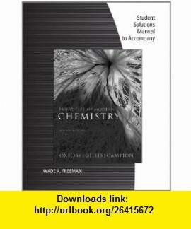 Student Solutions Manual for Oxtoby/Gillis Principles of Modern Chemistry, 7th (9781111427245) David W. Oxtoby, H. Pat Gillis , ISBN-10: 1111427240  , ISBN-13: 978-1111427245 ,  , tutorials , pdf , ebook , torrent , downloads , rapidshare , filesonic , hotfile , megaupload , fileserve