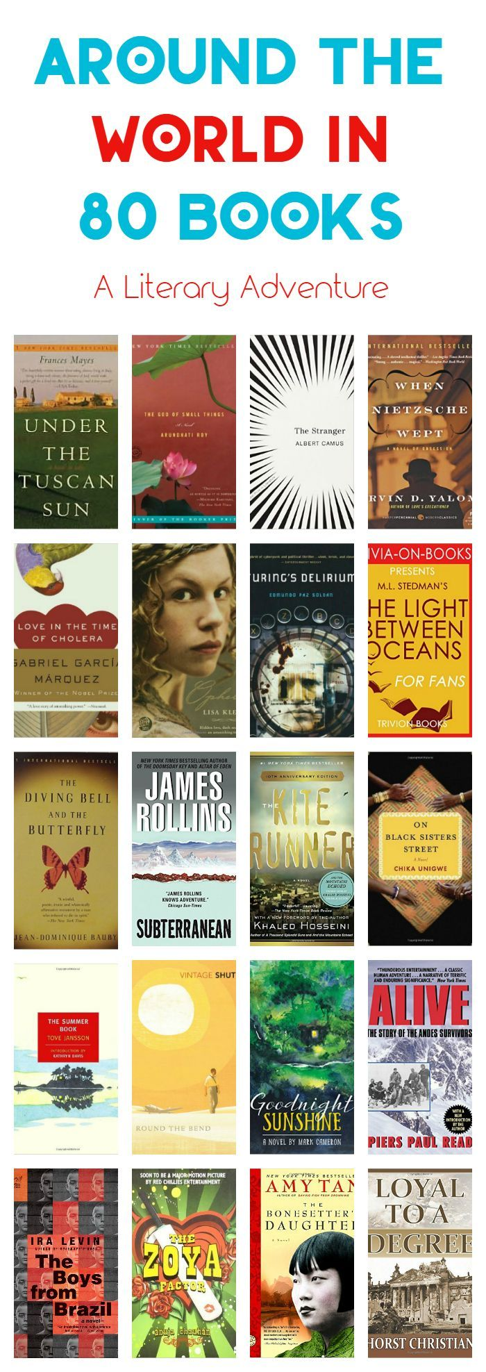 Travel Through Literature: Around the World in 80 Books
