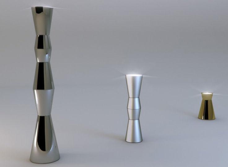 Original design coffee table - ARLECCHINO : COLLETTO - Altreforme