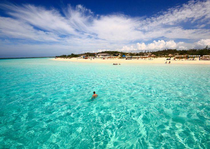 eau claire plage de Cayo Coco à Cuba