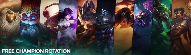 awesome Free Champion Rotation, Week of April 25th