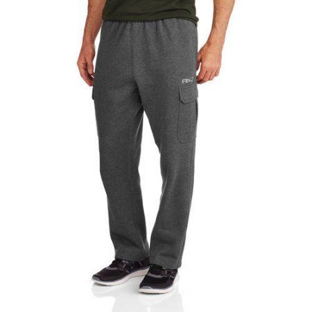AND1 Big Men's Double Team Cargo Pant, Black