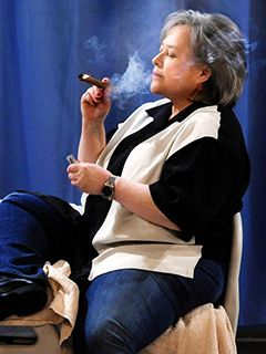 Kathy Bates--attitude