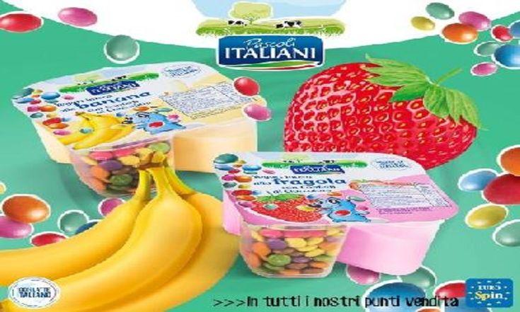Allerta alimentare per Yogurt con confetti al cioccolato per presenza di corpi estranei (plastica) ritirati da Eurospin, lotti e scadenze.