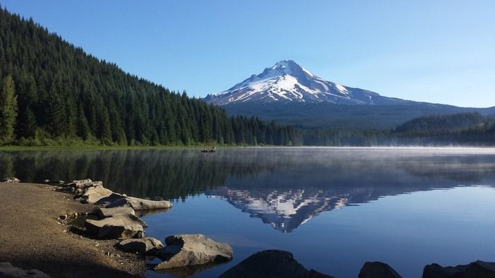 Despite a legend that says this highest peak in Oregon was climbed in high heels scores of people have died on its slopes