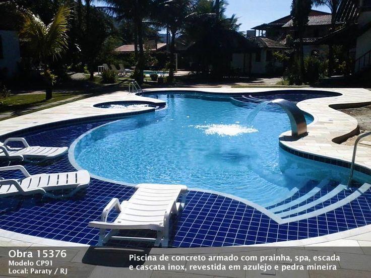 Las 25 mejores ideas sobre piscina de alvenaria en for Los mejores modelos de piscinas