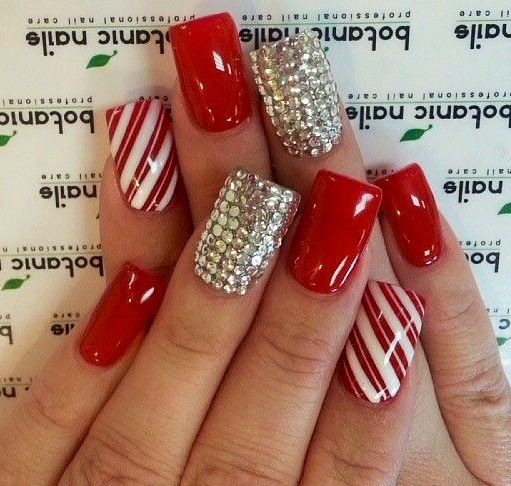 Best 25 red and silver nails ideas on pinterest red nails cute 50 red nail art designs and ideas to express your attitude prinsesfo Gallery