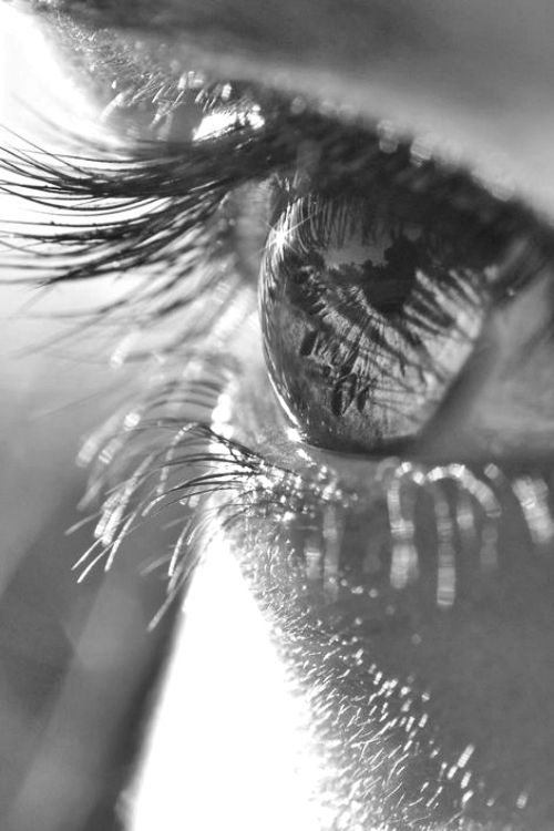 Perhaps our eyes need to be washed by our tears once in a while, so that we can see life with a clearer view again