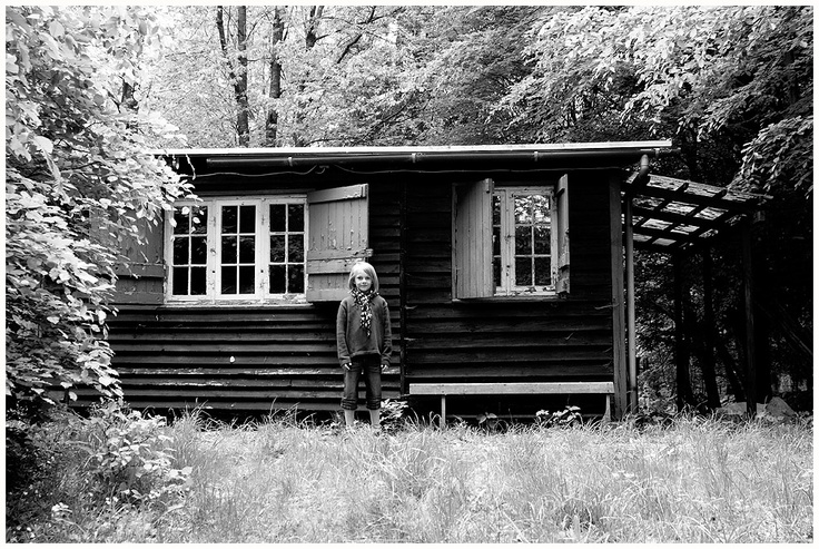 Portrait of Ulrik ind the woods... May 2011