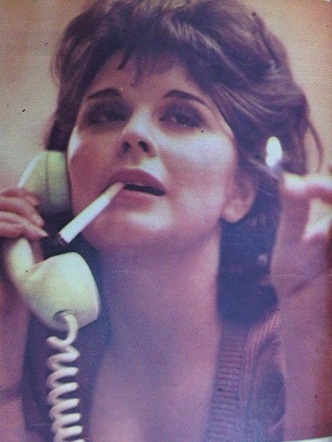 Egyptian actress Souad Hosni.