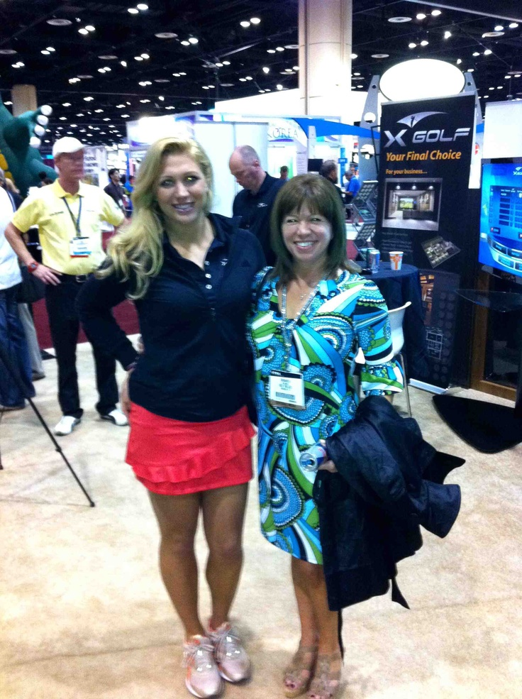 Suzanne Stanely, soon to be LPGA Superstar!