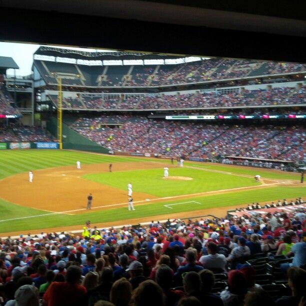 Baseball game, Dallas US